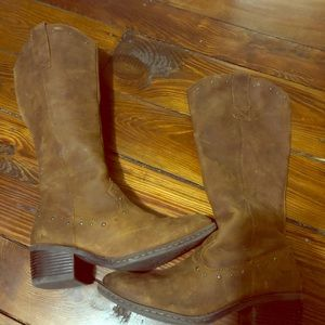 Women's B.O.C. Leather Riding Boots
